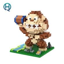 Mini Nano Blocks Pac Man LOZ Building Blocks Figures Diamond Blocks Compatible Legoelieds Toys 9619