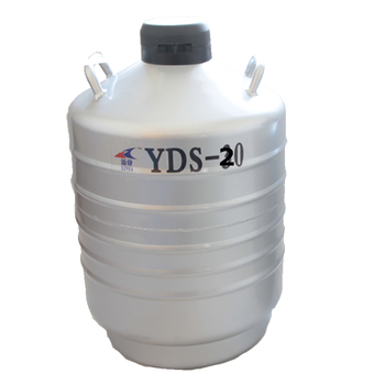 20L Liquid Nitrogen Container Cryogenic Tank Dewar With Straps Liquid Nitrogen Container Can yds 50b small capacity cryogenic liquid nitrogen tank