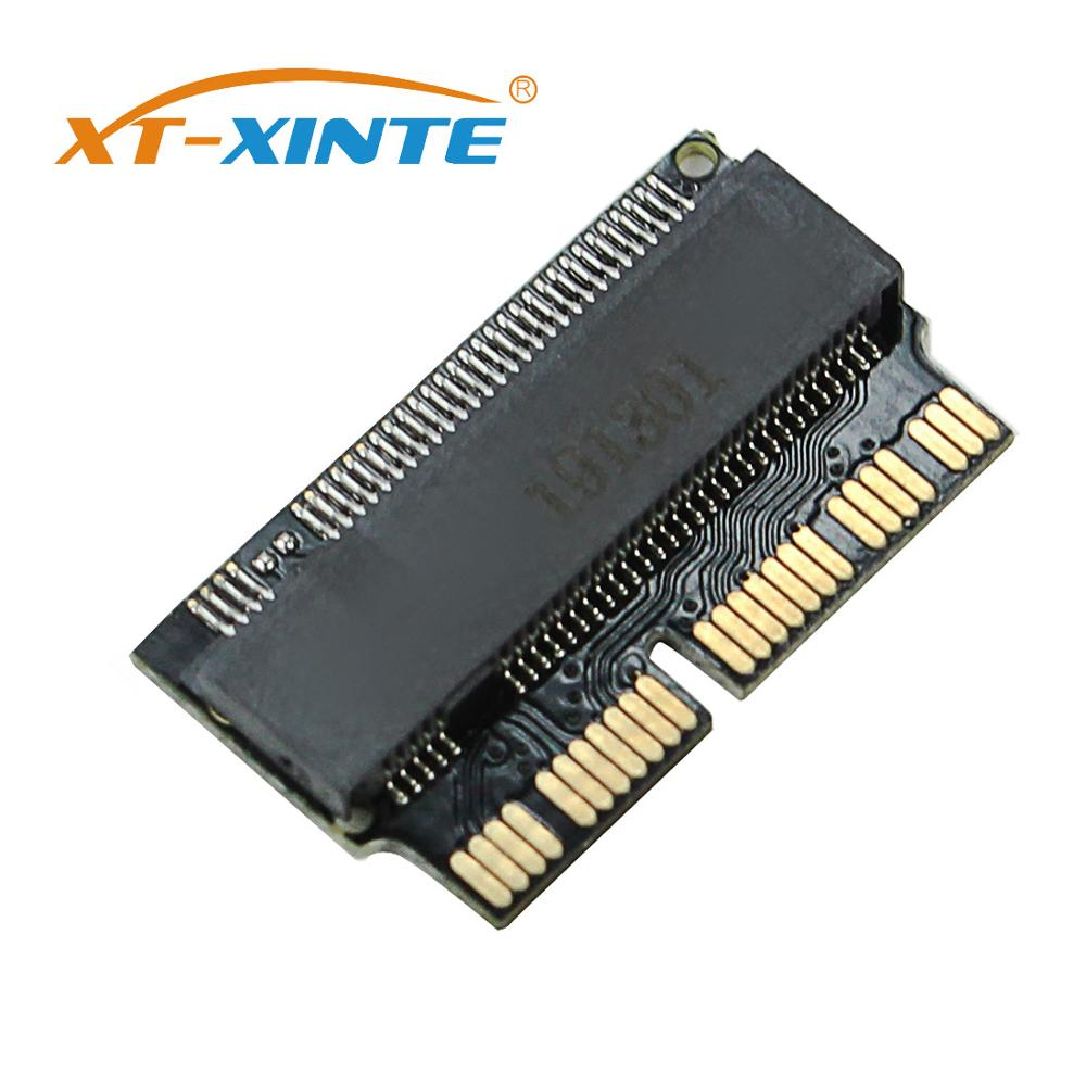 <font><b>M2</b></font> NVMe <font><b>PCIe</b></font> M.2 NGFF to SSD Adapter Card for Apple Laptop Macbook Air Pro 2013 2014 2015 A1465 A1466 A1502 A1398 <font><b>PCIE</b></font> <font><b>x4</b></font> image