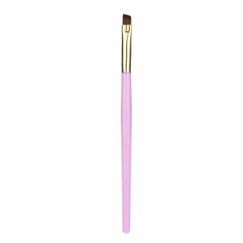 Brocha de cosméticos HAICAR brochas de cejas planas anguladas pinceles de maquillaje de precio directo de fábrica Nov 8