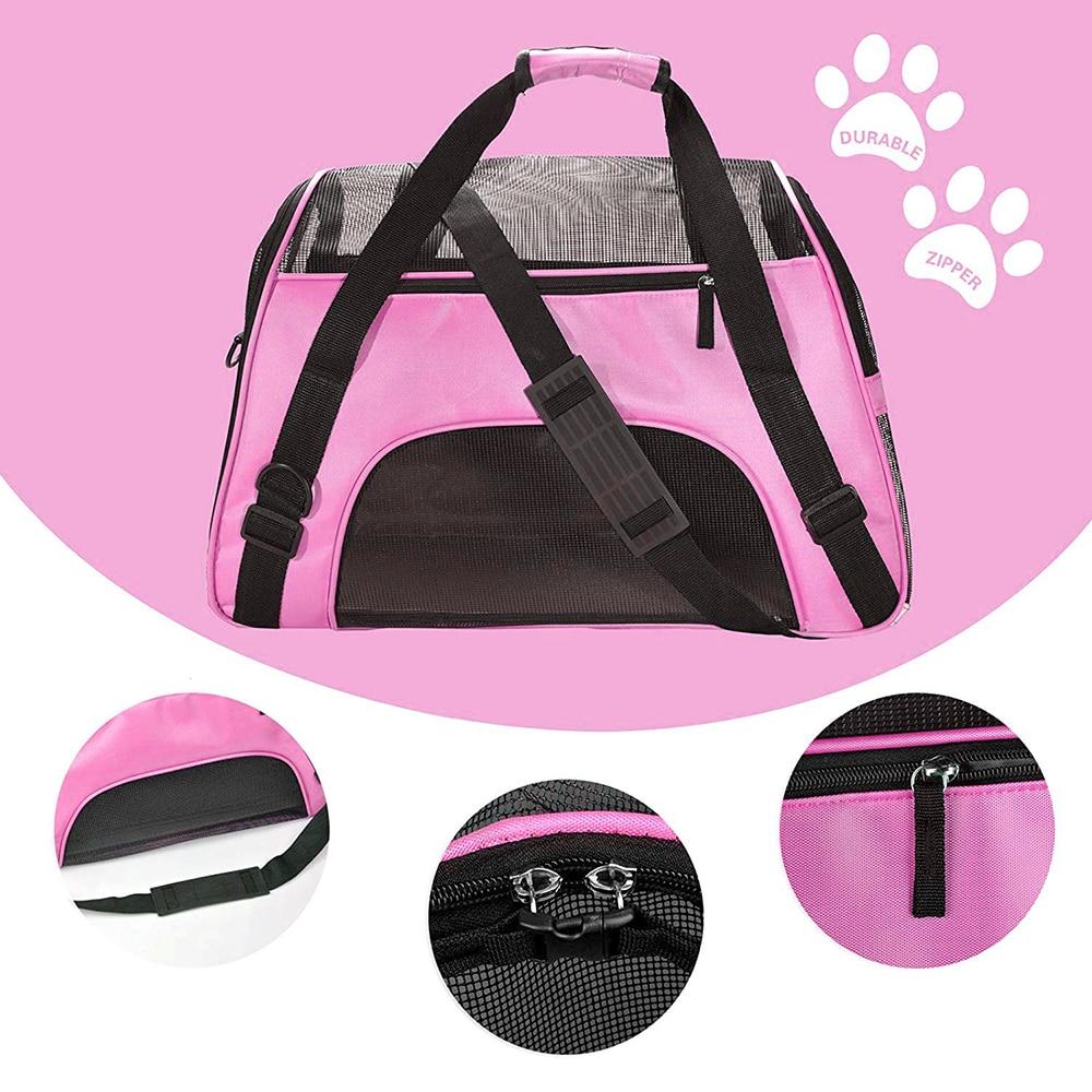Travel Small Dog Backpack Carrier Handbag 10