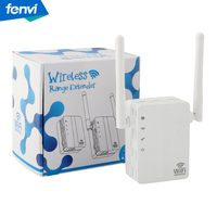 New Wireless WIFI Repeater 300Mbps WiFi Signal Range Extender Wi Fi Signal Amplifier Mini Wi Fi