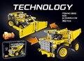 Las técnicas De Ingeniería de la tecnología clásica vehículo 2en1 minería camión de building block compatible. legoeinglys.42035 juguetes de la ciudad