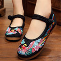 Free shipping old Beijing female cloth shoes women's shoes Leisure beef tendon shoe bottom national travel photography size34-40