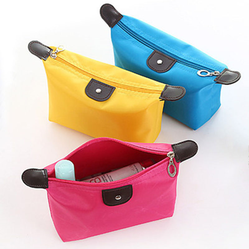 Clutch Purse Beautician Vanity Necessaire Trip Beauty Bag Women Travel Toiletry Makeup Kit Cases Cosmetic Bag Organizer Pouch