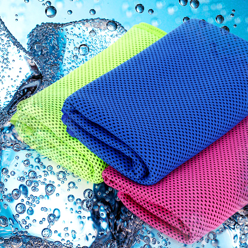 Best Quick Dry Towel For Gym: 30*100 Absorbent Sports Quick Dry Cooling Towel Cool Fast