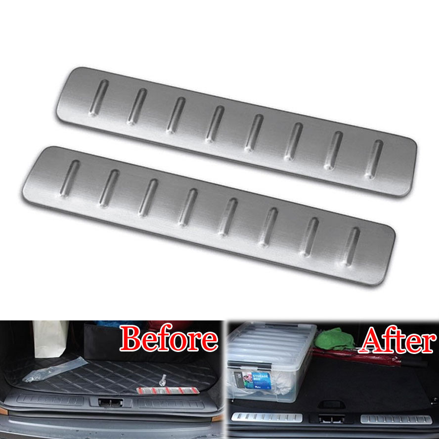 2x Stainless Scuff Plate Guards Step Car Styling Door Sill Trim Molding Cover Fit For 2012-2015 Range Rover Evoque Accessories stainless steel car door sill scuff plate trim cae styling for land rover range rover sport 2006 2007 2008 2009 2010 2011 2012