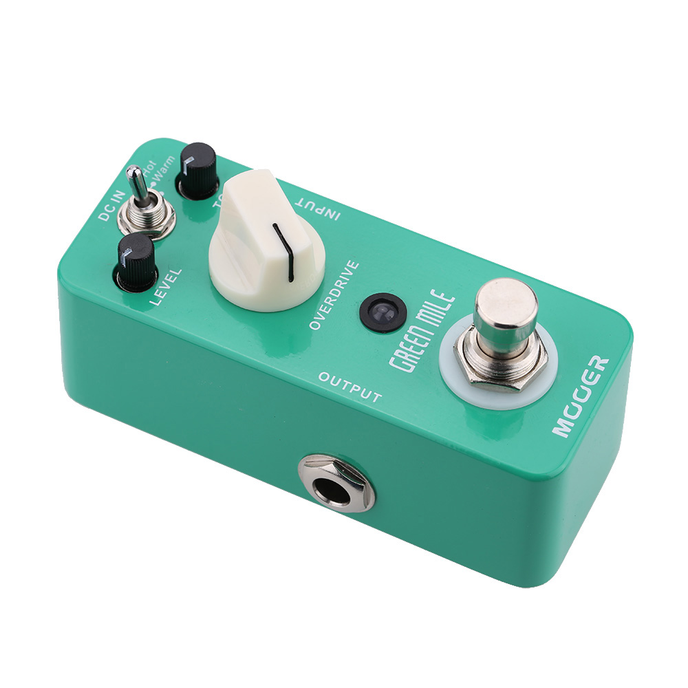 Mooer Green Mile Micro Mini Overdrive Electric Guitar Effect Pedal True Bypass High Quality Guitar Parts