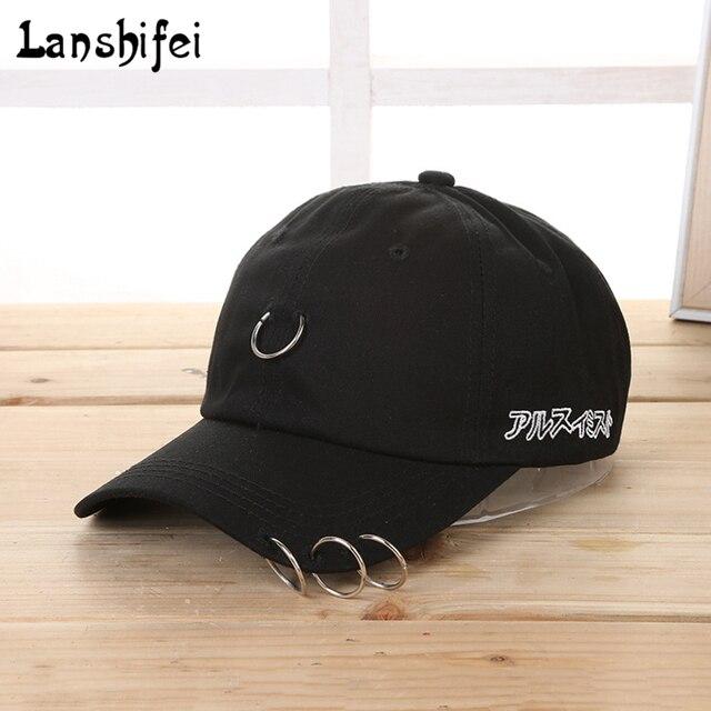 2017 hombres negro anillo unisex sombreros gorra de béisbol hombres mujeres SnapBack  gorras hip hop de 1bb797df03d
