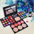 GRACEFUL Nueva Maquillaje Paleta de 39 Colores de Sombra de Ojos Con Imprimación Ojo Luminosa Banda de sombra de ojos Paleta de Maquillaje cosméticos lápiz labial SEPT7