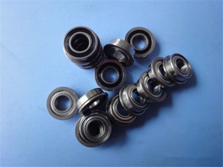 10PCS/LOT  BS034  Miniature Ball Flange Bearing  MF73ZZ Bearing 3*7*2.5mm Miniature Bearings  No Bearing Frame
