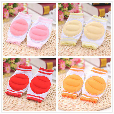 Safety Baby Corner Guards Crawling Protect Elbow Cushion Infants Kids Toddlers Cute Baby Knee Pads 5 Colors