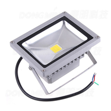 New 35pcs/lot RGB DC 12 volt led flood light 10w best price rechargeable led floodlight outdoor led spotlight IP65 900LM