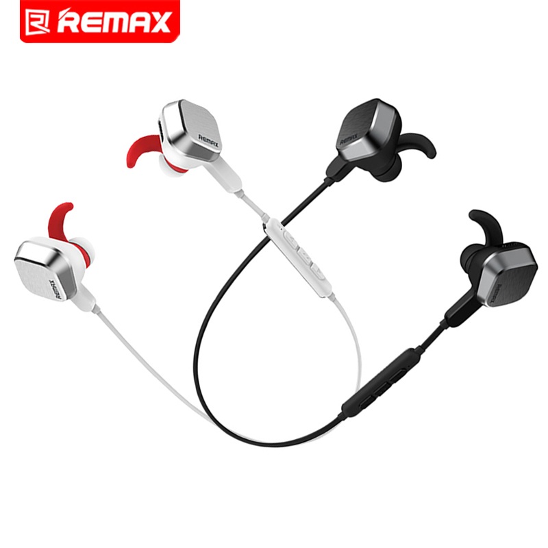 Remax Wireless Bluetooth Sport Earphone Stereo Headset Portable Handsfree Earbuds Headphones with Mic and Photograph for Phone
