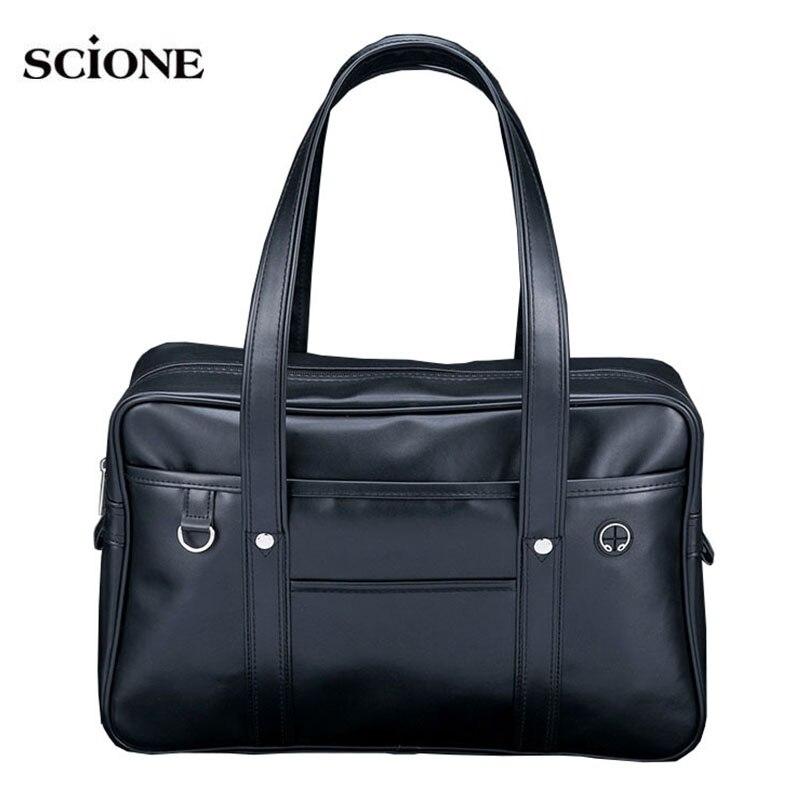 Leather Gym Bags Yoga Travel Sports Bag Holdall For Men Women Training Handbags Shoulder Sac De Sport Tas Sporttasche XA645WA