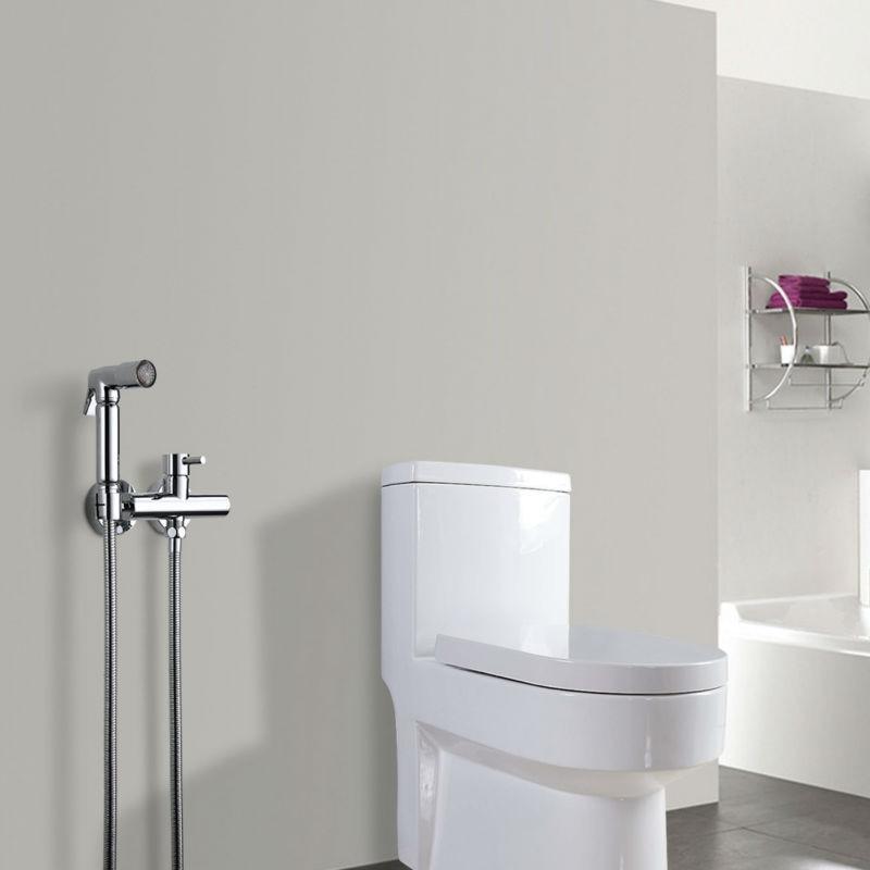 SKOWLL Toilet Bidet Faucet Bidet Hand Shower With LED Hand Held Bidet Spray  1.5M Shower Hose In Bidets From Home Improvement On Aliexpress.com |  Alibaba ...