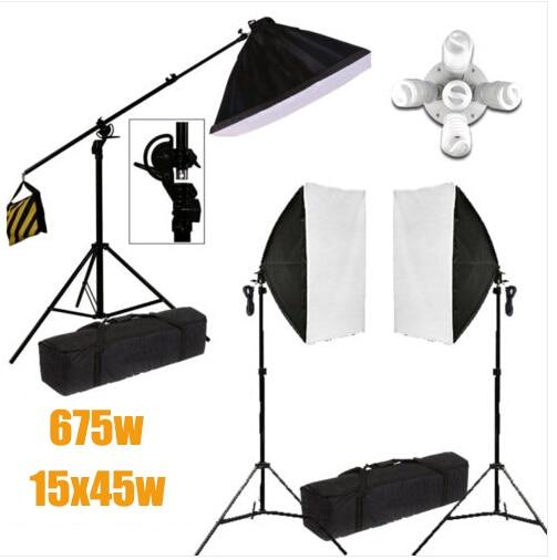 Photo Studio 15x45w 5 Head Soft Box Continuous Lighting Soft box Light Stand Kit  sc 1 st  AliExpress.com & Aliexpress.com : Buy Photo Studio 15x45w 5 Head Soft Box ... azcodes.com