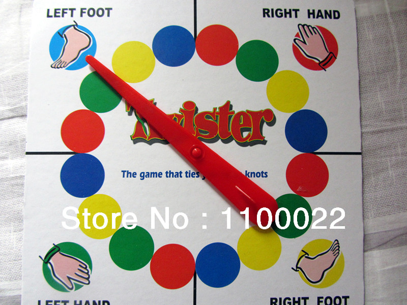 ... Twister Game Classic Twister Dance Rave Game Board Floor Games Family  Fun Free Shipping ...