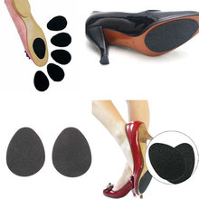 Superior 2pcs Foot Care Pads Self-Adhesive Shoes Heel Sole Protector Anti-slip Rubber Cushion Supports For Women FB(China)