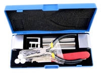 2017 New High Quality 12 In 1 HUK Lock Disassembly Tool Locksmith Tools Kit Remove Lock