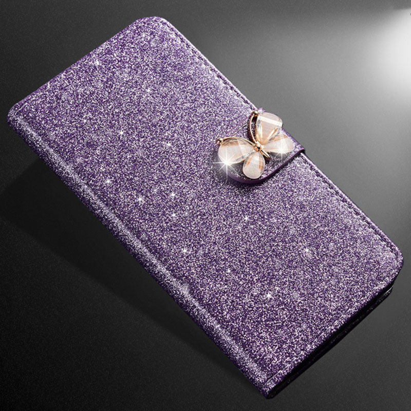 ZOKTEEC New Fashion Bling Diamond Glitter PU Mate 10 Flip Leather mobile phone Cover Case For Huawei Huawei Mate 10 Lite Pro in Flip Cases from Cellphones Telecommunications