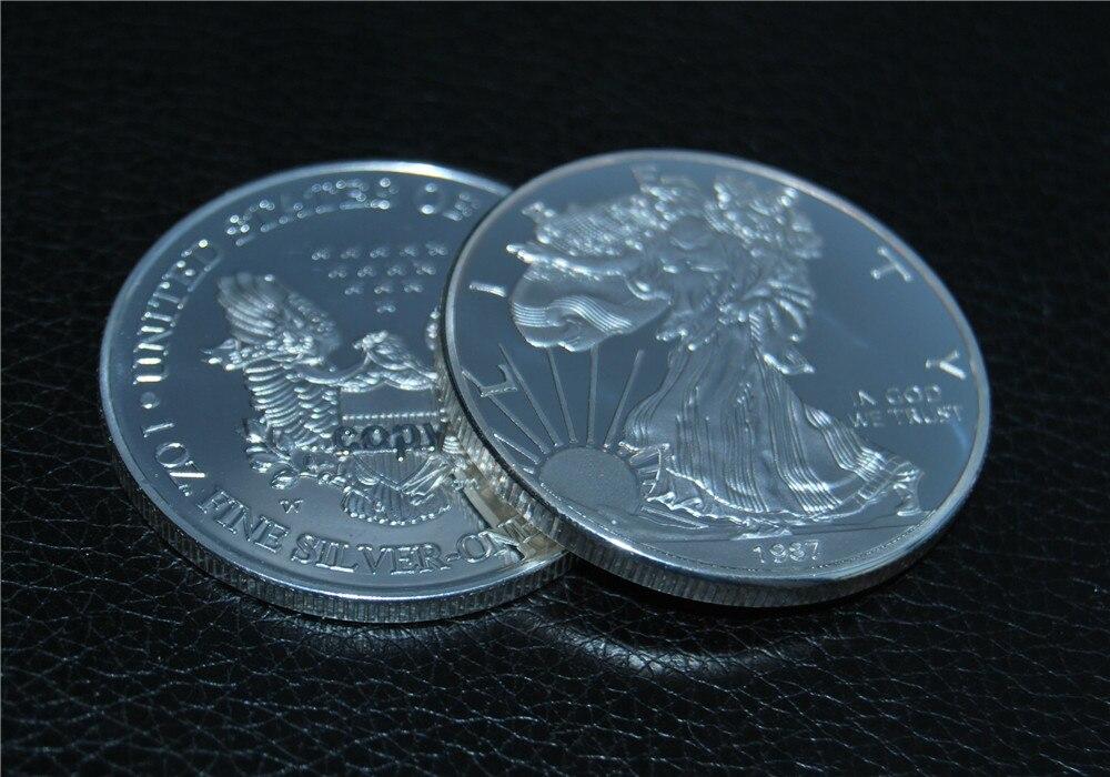 1987 $1 American Silver Eagle BU 1 oz .999 Fine Silver