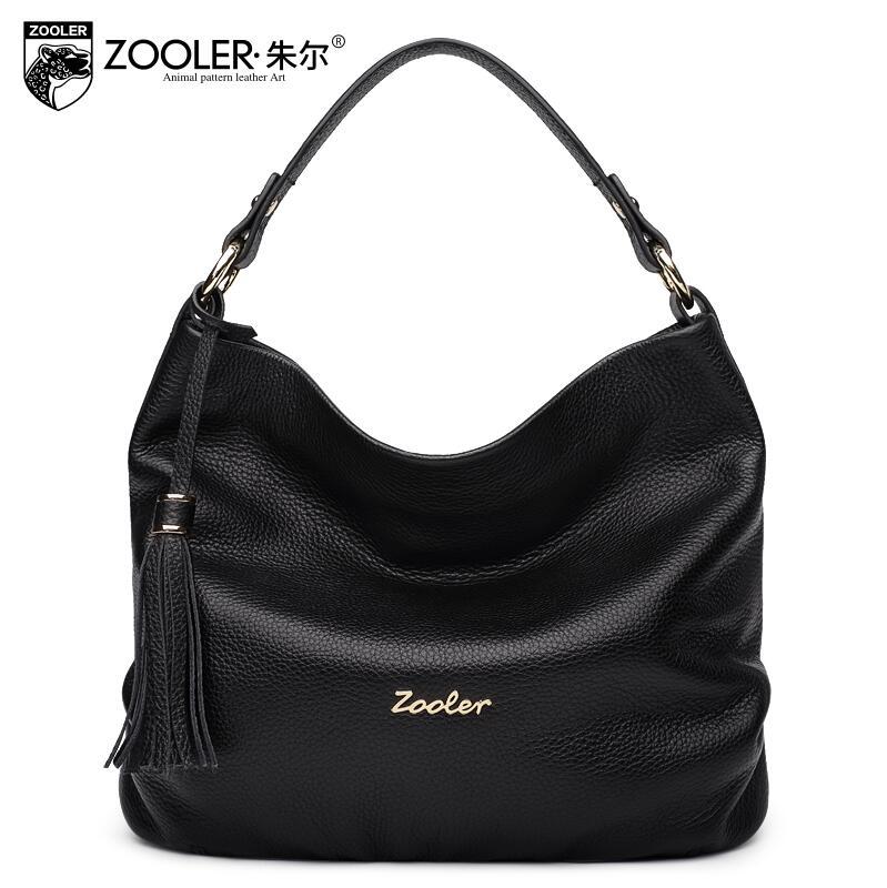 free delivery  Genuine Leather  Women bag  2017 new temperament handbag Fringed Shoulder Messenger Bag Hand bag