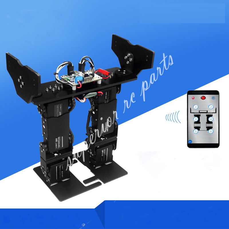 LOBOT 6 DOF Biped Walking Humanoiden Roboter Servo Halterung Mechanische Arm Entry level Gaming Pädagogisches LS 6B DIY-in Teile & Zubehör aus Spielzeug und Hobbys bei  Gruppe 1