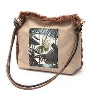Women S Handbags Korea And Japan Style Vintage Shoulder Bag For Women Teenager Girls Fashion Printing