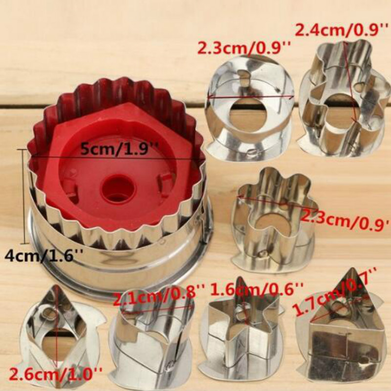 3D Scenario Stainless Steel Cookie Cutter Set Gingerbread Cake Biscuit Mould Fondant Cutter 1