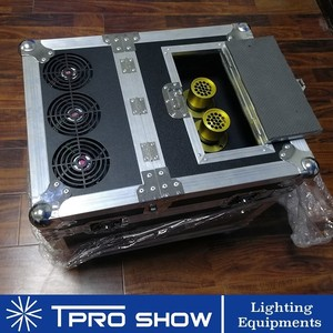 Image 2 - 900 W Hazer Rookmachine Dmx512 Dual Nozzle Fog Haze Podium Verlichting Effect In Flight Case Apparatuur DJ Club Bruiloft 600 W Rookmachine