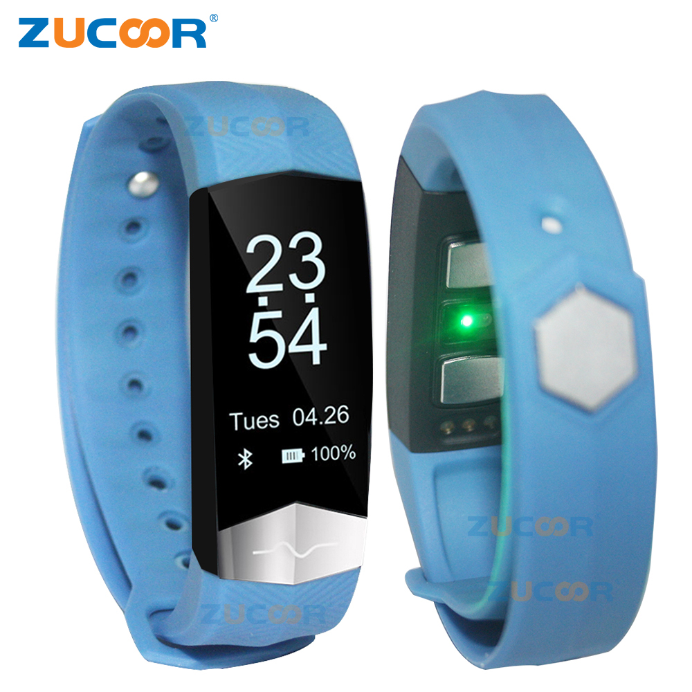 ZUCOOR Smart Bracelet Camera Wristband Fitness ECG PPG Blood Pressure CD01 Pedometer Smartband Wearable Devices PK Xaomi Mi Band