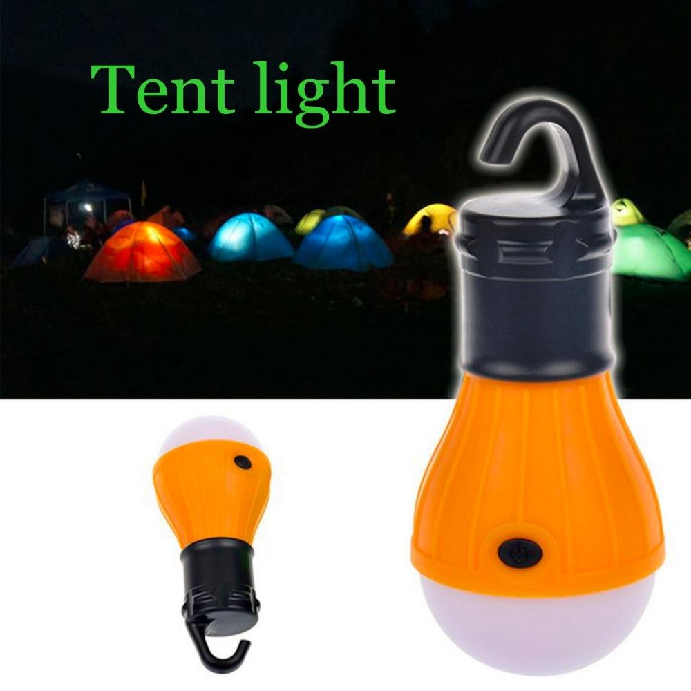 Mini lanterne Portable d'urgence, alimentée par batterie, accessoires pour tente de camping en plein air, plage en plein air