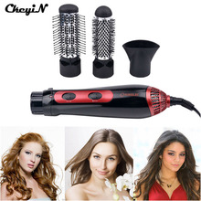 220-240V Electric Hair Dryer Curler 1200W Hairdryer Styler Hair Blow Dryer Machine Brush Comb Straightener Diffuser Styling Tool