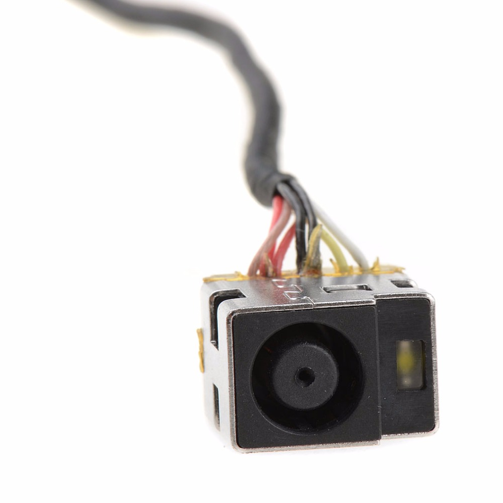 Laptops AC DC In Power Jack Socket Cable Harness For HP COMPAQ G56 G62 CQ56 CQ62 CQ62Z Notebook Computer Connector VCG55 1x dc in jack dc power jack connector for sony vaio vgn fz vgn nr vgn fw pcg series power socket 2p 180 degree
