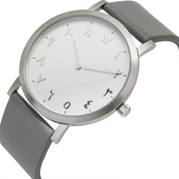 Luxury Unisex Arabic Numerals Watches Top Quality Full Stainless Steel Material Arabian Hours