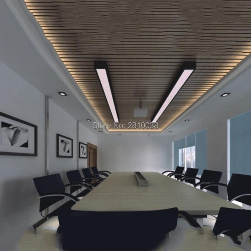 10X1M Sets / Lote Perfil de aluminio anodizado plateado para tiras de - Iluminación LED - foto 5