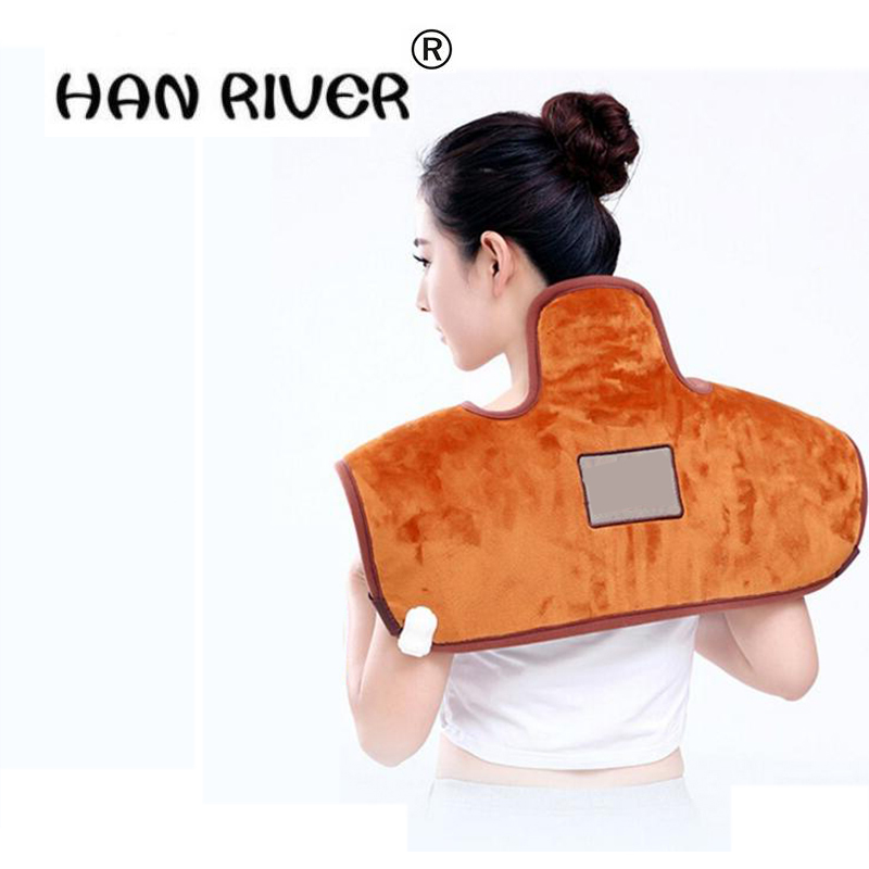 HANRIVER Multi function electric and heat shoulder neck therapy package Sea salt crude salt hot pack electric heating salt bag