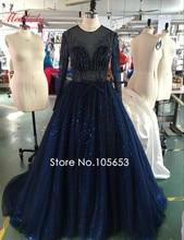 Real Sample Ballkleid Luxus Promi Abendkleid Sexy Durchsichtig Pailletten Abendkleid Mutter und Tochter Kleider C89