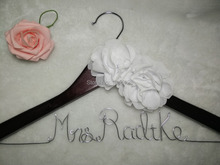 Promotions Custom name hanger,Unique wedding personalized name hanger,Wedding dress hanger, Bridal hanger,Bridesmaids gift, Wire