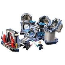 723pcs Death Star Final Duel Star Wars Building Blocks Star Wars Minifigures Toys Brick Boys Birthday Gift