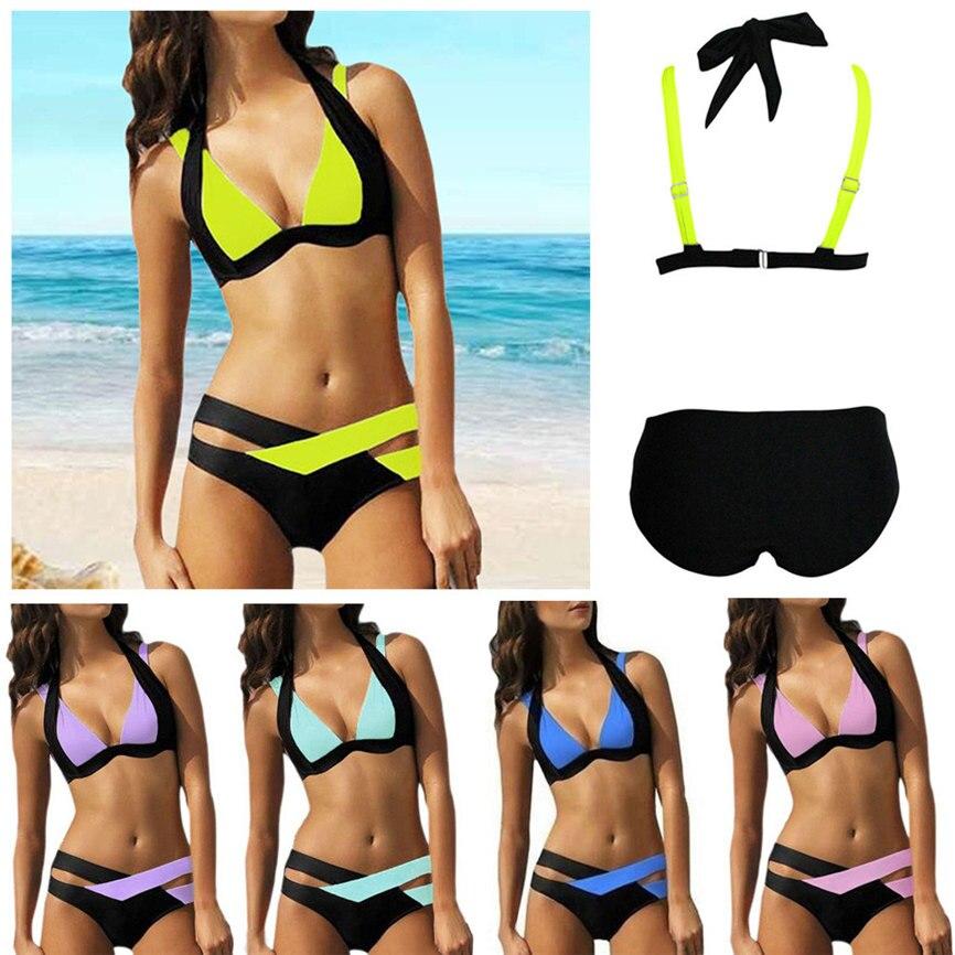 Charitable 2018 New Sexy Swimsuit Sexy Swimwear Women Swim Beach Wear Print Bandage Swimsuit S~xxxl Dropshipping May#5 Pleasant To The Palate