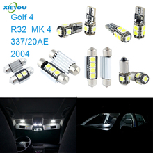 XIEYOU 8pcs LED Canbus Interior Lights Kit Package For Volkswagen VW Golf 4 R32 MK 4 337/20AE 2004