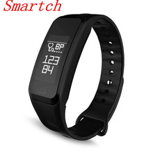 Smartch R1 смарт-браслет сердечного ритма Мониторы Спорт Bluetooth Smart Band Водонепроницаемый Спорт Фитнес средства отслеживания вызовов Напоминание сигнализации