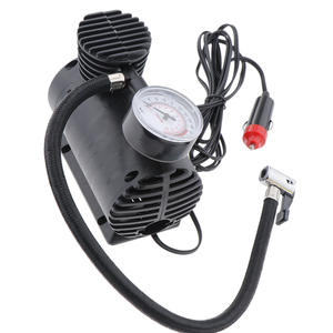 Image 5 - Portable Electric Mini 12V Air Compressor Pump Car Tyre Tire Inflator Pump Inflador de neumaticos bomba pneu gonfleur pompe