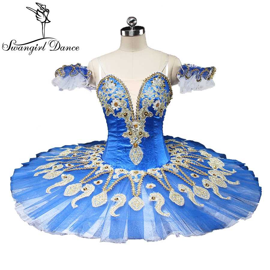 66b05252d71c latest blue swan lake ballet tutu platter sugar plum fairy professional  pancake ballet tutu blue bird