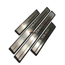 Car Styling For Nissan Rogue X-Trail T32 Accessories 2015 2017 2019 Stainless Steel Door Sill Scuff Plate Pedal Trim Car Sticker(China)
