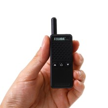2Pcs Smallest & Lightest Fashion Mini Walkie Talkie 16CH 2W UHF 430-470Mhz PMR446 Two Way RadioFM TRANSCEIVER MINI RADIO