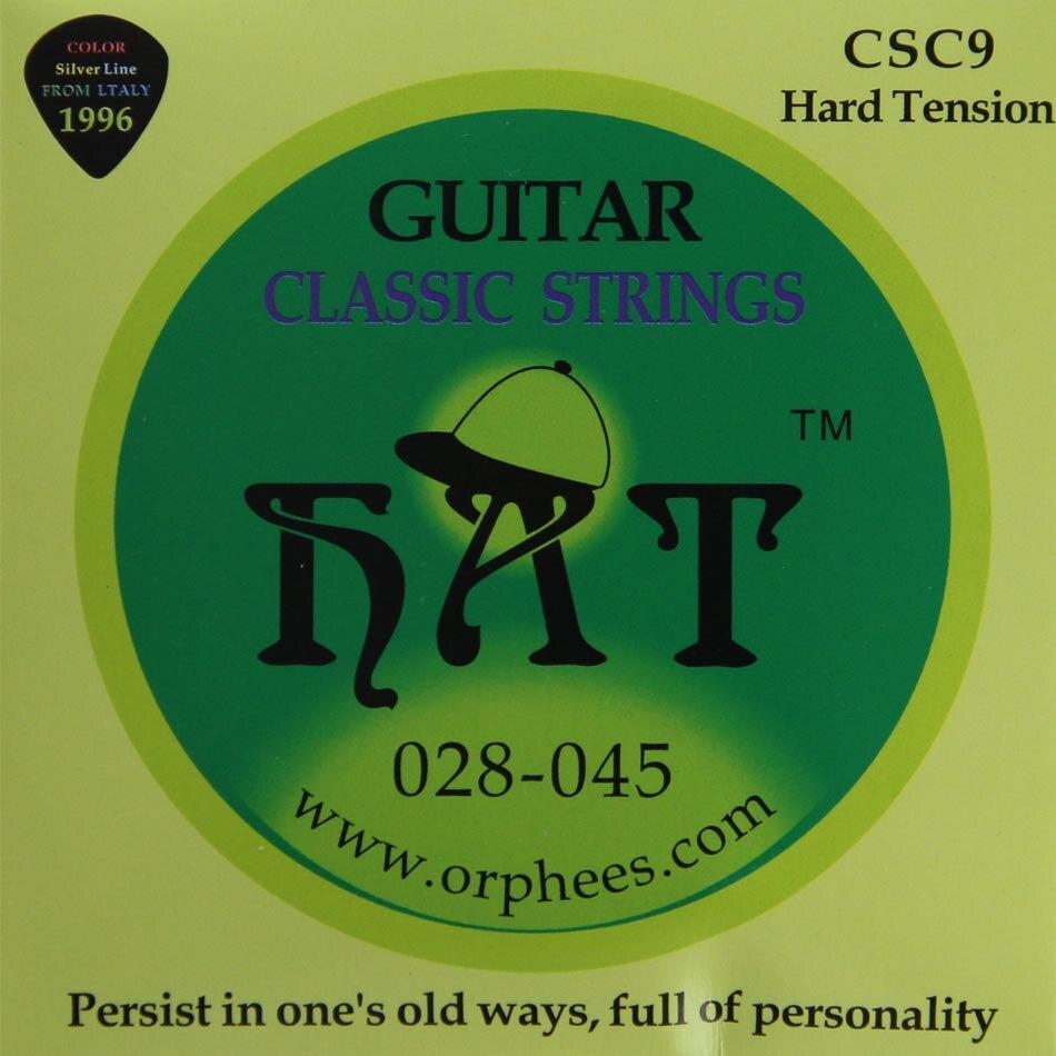 ᗚAccesorios para guitarra orphee CSC9 cuerda de guitarra clásica ...