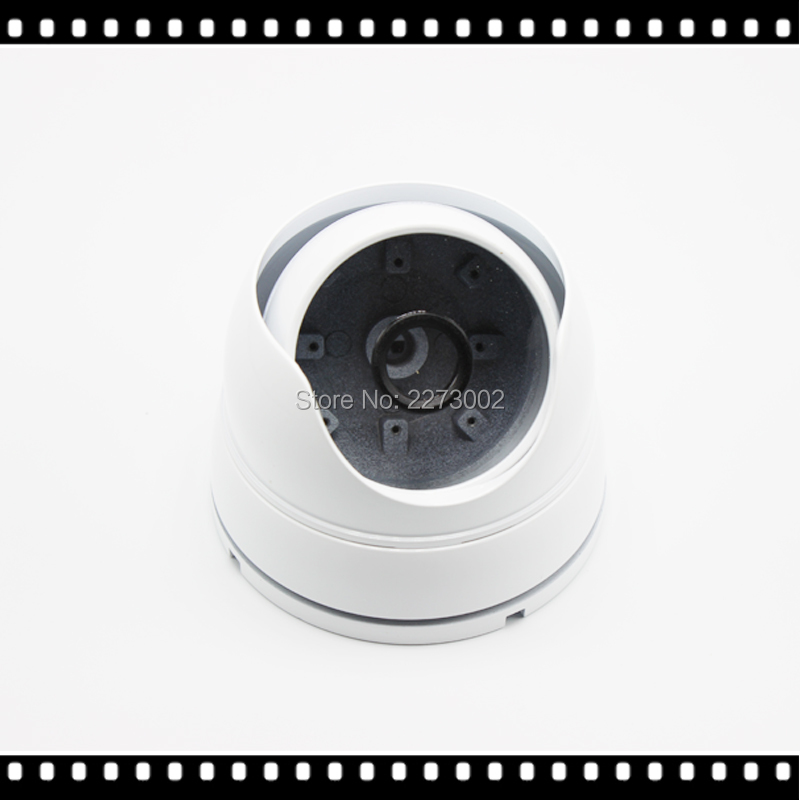 Outdoor Indoor Metal IR Dome Camera s Case Shell White for Security CCTV IR Dome IP